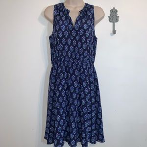 Rebecca Taylor 2 Silk Floral Sleeveless Dress